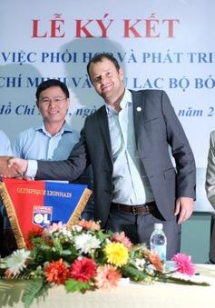 TP.HCM hợp tác đào tạo bóng đá trẻ với CLB Lyon của Pháp