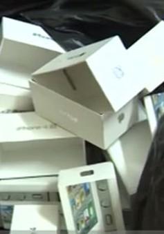 Tràn lan iPhone nhập nhằng nguồn gốc xuất xứ trên thị trường