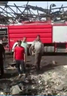 Đánh bom liều chết tại Iraq, hơn 20 người thương vong