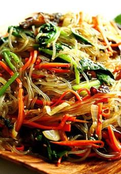 Jap Chae - Miến xào kiểu Hàn Quốc