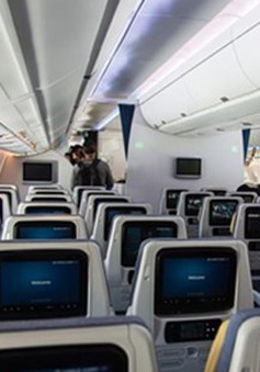 Vietnam Airlines khai trương máy bay A350 mới