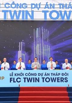 Khởi công tháp đôi FLC Twin Towers cao thứ 3 Hà Nội