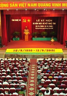 Tỉnh Nghệ An kỷ niệm 85 năm Xô Viết Nghệ Tĩnh