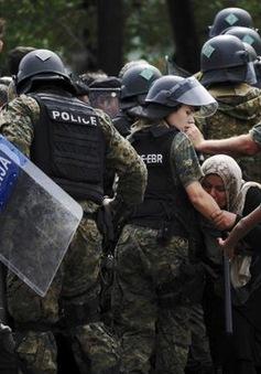 Cảnh sát Macedonia ném lựu đạn vào dòng người nhập cư