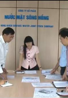 Hà Nội đầu tư 3.700 tỷ đồng xây Nhà máy nước mặt Sông Hồng