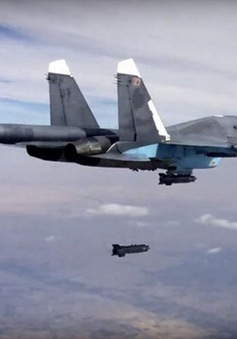 Nga phá hủy 2 cơ sở dự trữ dầu mỏ của IS ở Syria