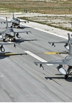 UAE điều phi đội F16 hỗ trợ Jordan không kích IS