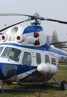 Trực thăng Mi-2 của Nga rơi khi hạ cánh, một người thiệt mạng