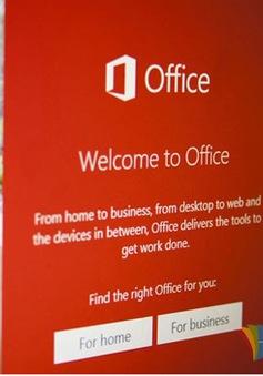 Microsoft Office 2016 phát hành nửa sau năm 2015