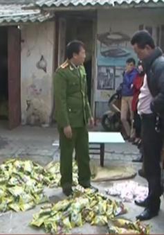 Nam Định: Bắt gần 7 tấn mì chính, hạt nêm giả