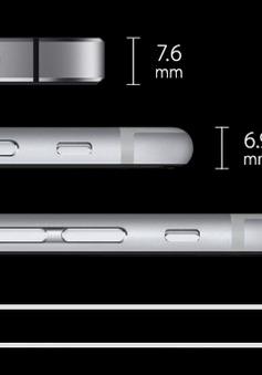 5 smartphone mỏng hơn iPhone 6