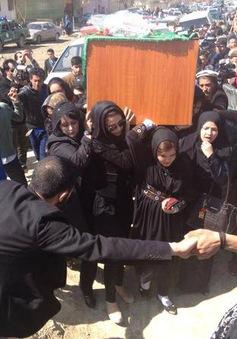 Afghanistan bắt 26 kẻ thiêu sống một phụ nữ