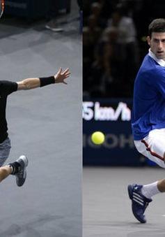 Paribas Masters 2015: Murray quyết chiến Djokovic ở chung kết