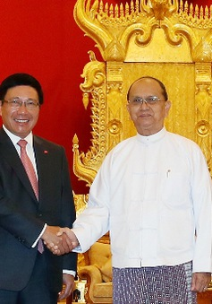 Myanmar coi trọng quan hệ hữu nghị và hợp tác với Việt Nam