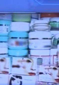 Đình chỉ và thu hồi 19 mỹ phẩm cám gạo tắm trắng
