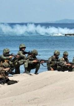 Philippines tập trận chung với Mỹ và Nhật Bản
