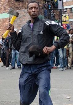 Nam Phi chống làn sóng tấn công người nước ngoài