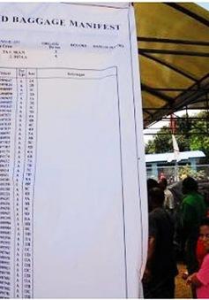 Tìm thấy 53 thi thể nạn nhân vụ máy bay Indonesia rơi