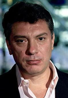Nga điều tra vụ sát hại cựu Phó Thủ tướng Nemtsov