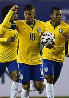 """""""Tội đồ"""" Neymar tin Brazil vô địch Copa America 2015"""