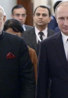 Ấn Độ và Nga tăng cường hợp tác quốc phòng