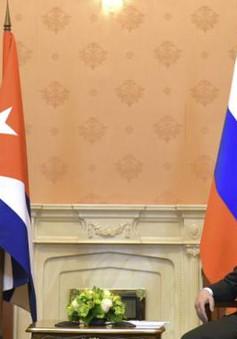 Thủ tướng Nga hội đàm với Chủ tịch Cuba