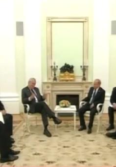 Tổng thống Nga hội đàm với Tổng thống Czech