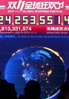 Trung Quốc bước vào ngày hội mua sắm trực tuyến lớn nhất năm