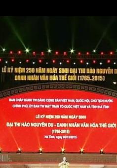 Kỷ niệm 250 năm ngày sinh đại thi hào Nguyễn Du