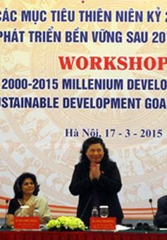 Việt Nam hoàn thành sớm nhiều mục tiêu thiên niên kỷ