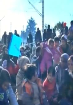 Macedonia đóng cửa biên giới, chặn dòng người tị nạn
