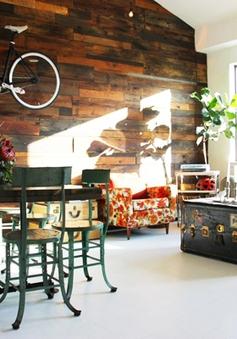 Ngôi nhà xinh xắn với nhiều vật dụng tái chế