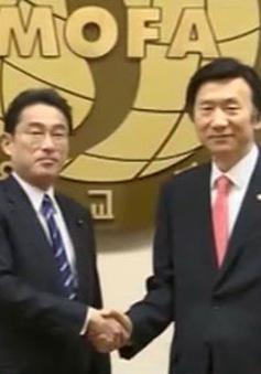 Nhật Bản – Hàn Quốc hội đàm trước thềm Hội nghị thượng đỉnh Đông Bắc Á