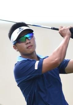 Trần Lê Duy Nhất sụt giảm phong độ tại giải golf Hồ Tràm Open