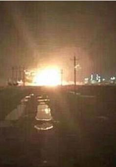 Trung Quốc: Nổ nhà máy hoá chất tại tỉnh Sơn Đông