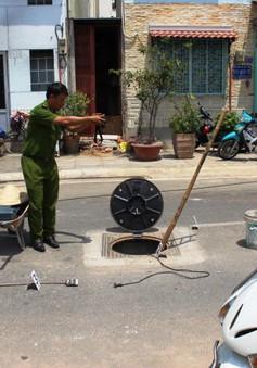 TP.HCM: Nổ hố ga, 3 công nhân bị bỏng