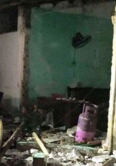 Cháy nổ lớn tại Nam Định: 3 nhà sập, 1 người thiệt mạng