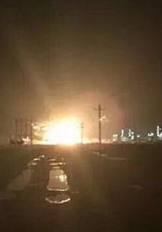 Trung Quốc: Nổ lớn rung chuyển tỉnh Sơn Đông