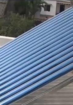 Tiết kiệm điện bằng bình nước năng lượng mặt trời