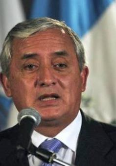 Guatemala phát lệnh bắt giữ Tổng thống