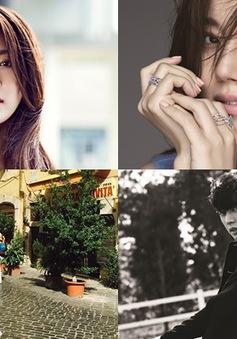 Lee Min Ho khoe ảnh trên đất Ý, Ha Ji Won quyến rũ ở Hawaii