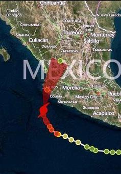 Siêu bão Patricia đe dọa gây thảm họa khủng khiếp cho Mexico