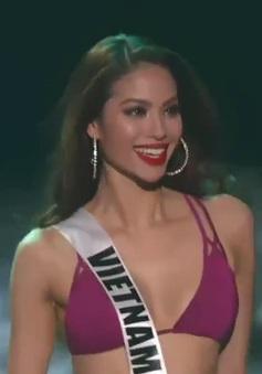 Phạm Hương đẹp nóng bỏng ở bán kết Hoa hậu Hoàn vũ 2015