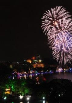 Hà Nội: Sẽ bắn pháo hoa tại 31 điểm trong đêm giao thừa