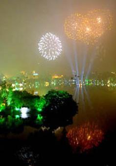 Hà Nội: Sẽ bắn pháo hoa nghệ thuật ở bãi giữa sông Hồng vào đêm giao thừa
