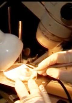 Dùng tia laser chữa lành vết thương
