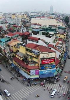 Hà Nội: Tạm dừng lát đá 11 phố đi bộ trong khu phố cổ