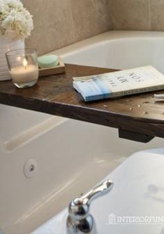 Ý tưởng thú vị làm mới không gian phòng tắm