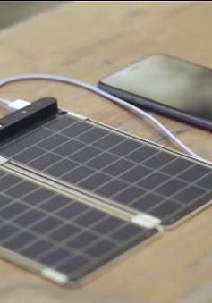 Solar Paper – Bộ sạc pin năng lượng mặt trời siêu mỏng