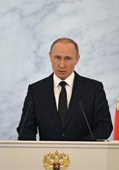 Thông điệp Liên bang 2015 thể hiện dấu ấn cá nhân của Tổng thống Nga